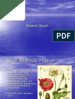 Alkaloid Opium