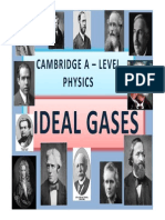 Chapter 11 Ideal Gases