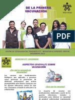 Presentacion Jornada de Vacunacion 2