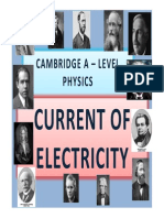 Chapter 19 Current of Electricity