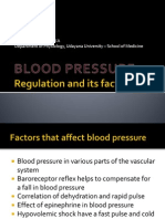 Cardio - Blood Pressure and Factors