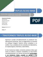 Trastornos triples ácido-base