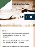 Power Conducta de Ayuda y Altruismo