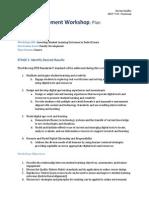Staff Development Workshop - Plan