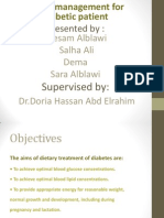 Dietary for Diabetic