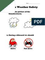 severe weather safety quiz