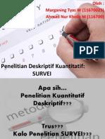 Pen Kuan Deskriptif SURVEI