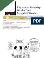 Keganasan Wanita Gender Handouts