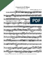 Vivaldi d Minor Vc Solo