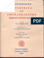 Nityosava of Umanandanatha - A. Mahadev Sastri