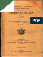 Tantra Sara Samuccaya of Narayana II - K a. Mahadev Sastry