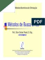 03 - Metodos de Busca Linear