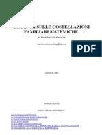 Bert Hellinger - Dispensa Costellazioni Familiari Sistemiche
