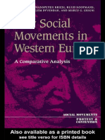 New Social Movement in Western Europe