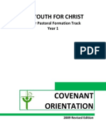Yfc Covenant Orientation 2009 Edition