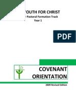 Yfc Covenant Orientation 2009 Edition