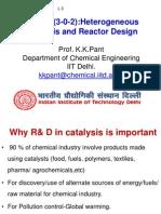 Heterogeneous catalyst