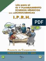 Guia Para El Inventario y Planeamiento de Los RRHH en Microcuencas IPRH