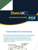 3.- Transmisión de Movimiento