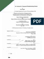 Mfg Process Design