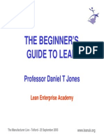 Beginners Guide to Lean
