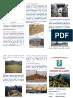 Triptico Patrimonio Historico