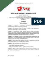 BO-Ley-1959-1211 de Inquilinato y Alquiler