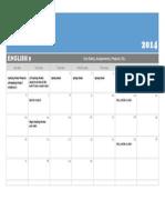english 9 - website calendar
