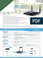 Netis WF2522 Datasheet V1.0