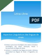 Introdução ao Estudo de  Aspectos Linguísticos das línguas de sinais