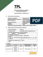Plan Docente Hidraulica 3 2