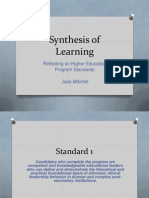 synthesis of learning standards