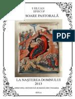 Pastorala la Nasterea Domnului 2013