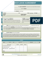 New Mexico Lease Agreement Form