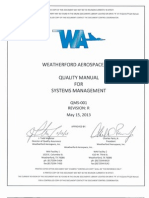 AS9100 Quality Manual for Systems Management