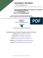 Following the Scientific Method - Donaldson - 2005