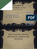 Bilt-Developing Business Through People (1)