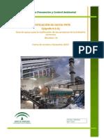 Guía de apoyo para la notificación de emisiones de la industria cervecera (2010) Junta de Andalucía