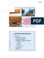 Landfill Gas Management