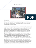 The Matsya Purana (With Introduction, English)