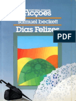 Samuel Beckett - Dias Felizes(Editoria Estampa, 1989)