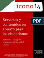 Preactas del I Congreso Internacional Sociedad Digital