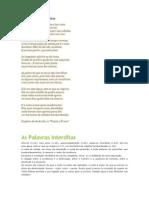 As Palavras Interditas - Eugénio de Andrade - Trabalho de Português