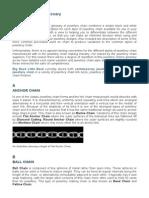 BBLB Jewellery Chain Glossary