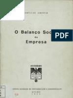 O Balanço Social da Empresa / Amílcar Amorim