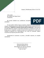 Carta Solicitud Estudio de Suelos Eps