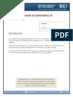WIN StatGraphics 16 ActivacionLicencia