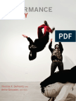 Black Performance Theory edited by Thomas F. DeFrantz and Anita Gonzalez