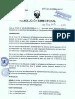 RD-203-2011 categorización