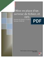 PPE Serveur de Fichier Avec DFS